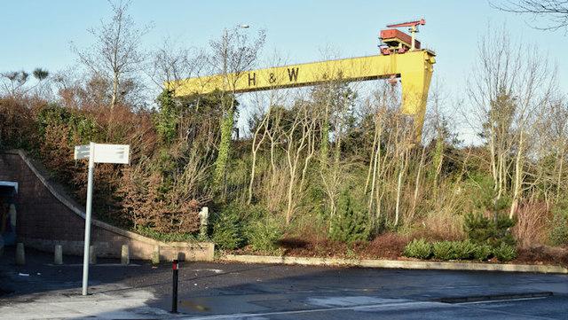 Landscaping, Ballymacarrett Road, Belfast (December 2017)