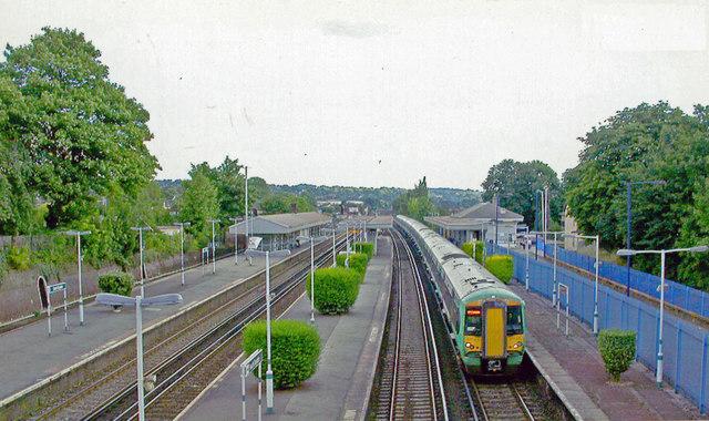 South Croydon station, 2005