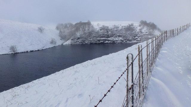 Alongside the Grwyne Fawr Reservoir, 4