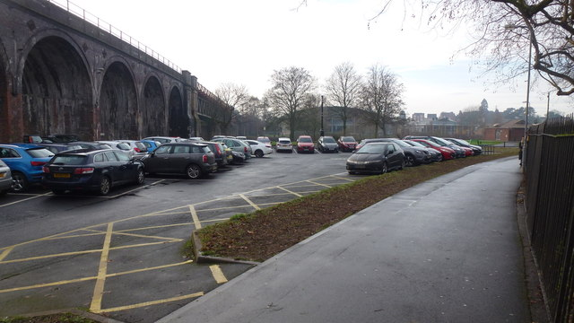 Croft Road car park, Worcester, 1