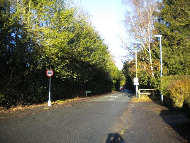 Wolverhampton city boundary, Wergs