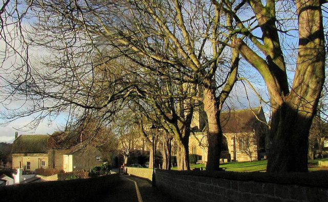 Church path, Knaresborough
