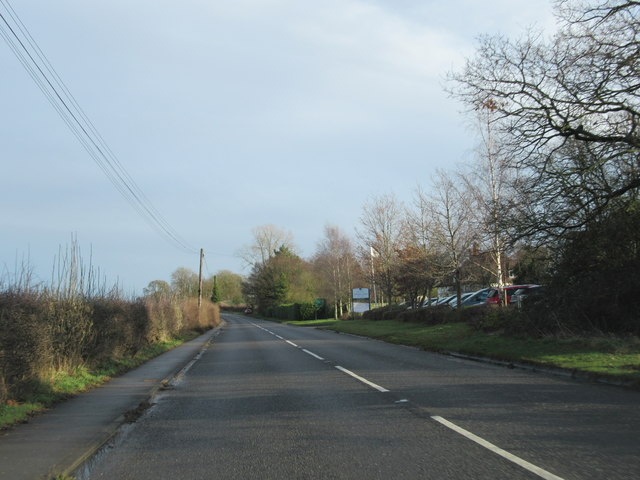Stratford Road Alcester Near The Cherrytrees Hotel