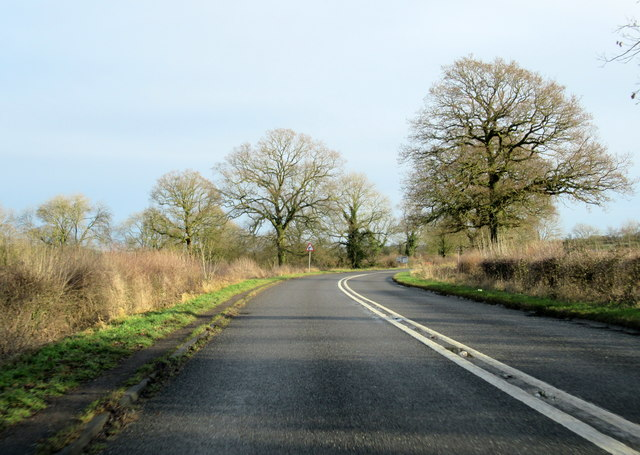 Stratford Road Alcester Near Dunlop Hill