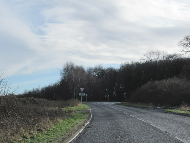 Stratford Road at Junction With A46
