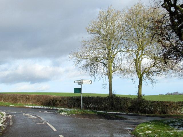 Hatton Bank Lane Junction