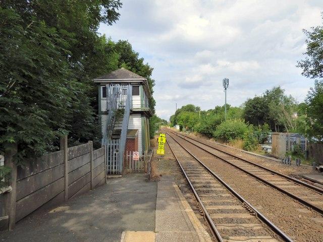 Romiley signal box