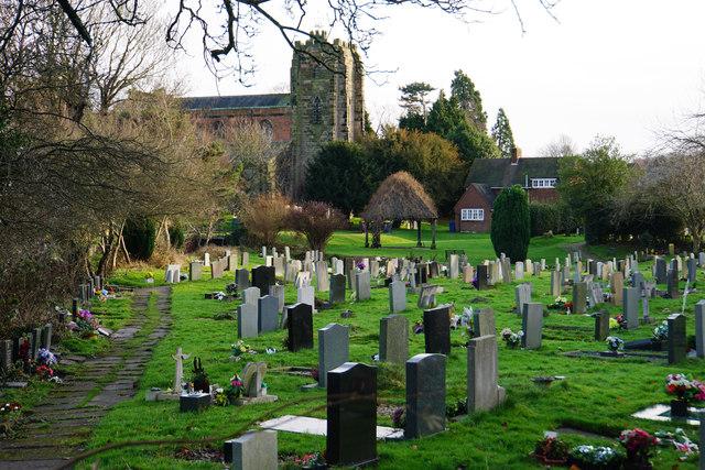 Churchyard of St Chad's, Stowe
