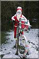 NT4029 : Santa at Yarrowford by Walter Baxter
