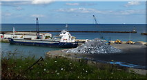 NZ4349 : South Dock at Seaham Harbour by Mat Fascione