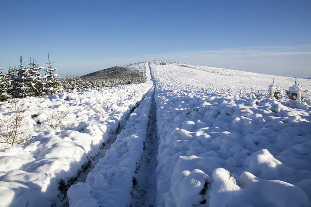 Winter conditions on the Southern Upland Way