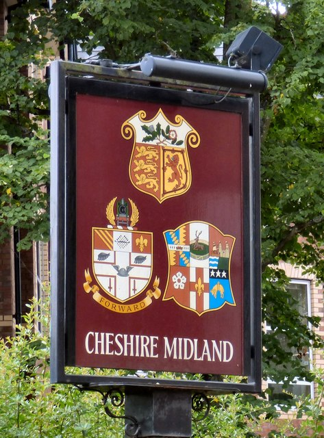 Sign of the Cheshire Midland