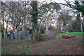 SK1209 : Part of the churchyard of St Michael-on-Greenhill by Bill Boaden