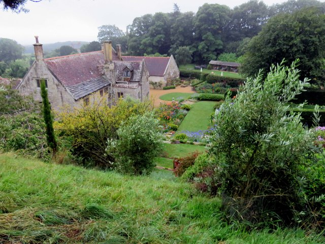 Mottistone Manor from the Olive Grove