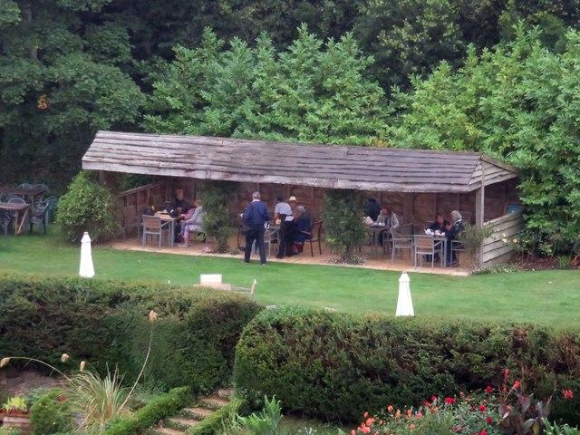 The Tea Garden at Mottistone Manor