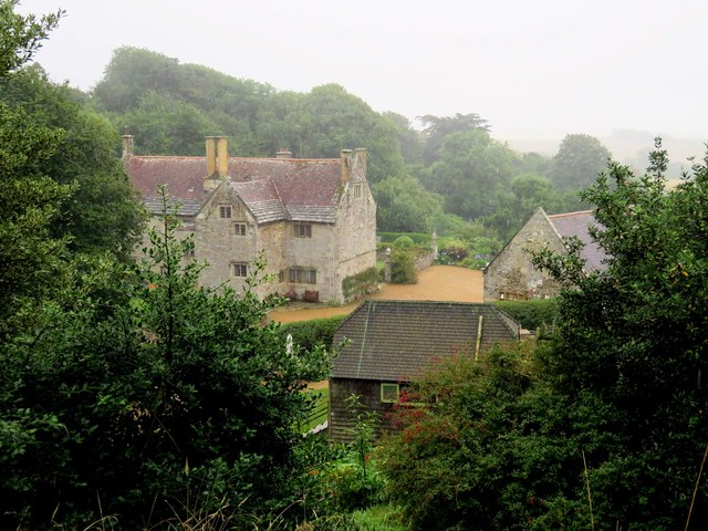 Mottistone Manor from the View Point