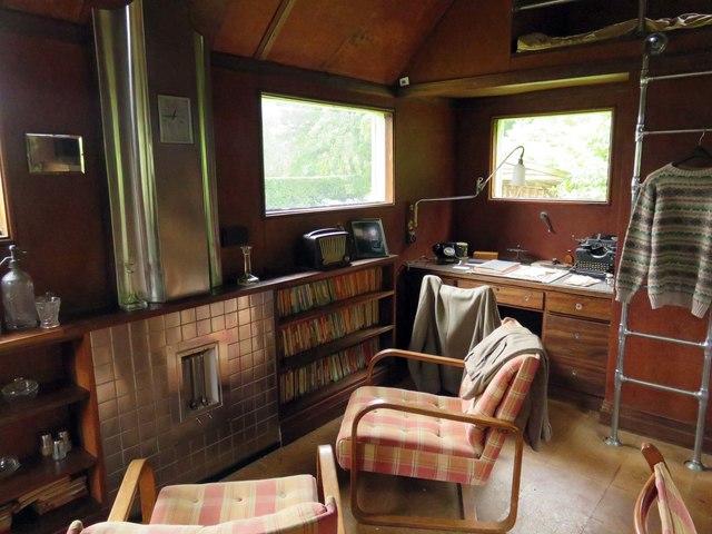 Inside the Shack at Mottistone Manor