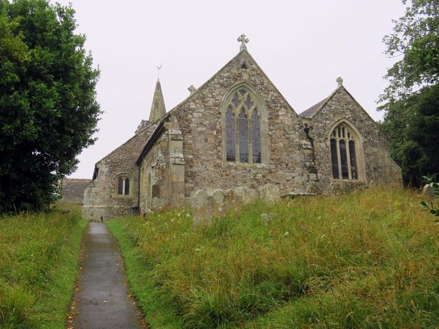 St Peter & St Paul Church in Mottistone