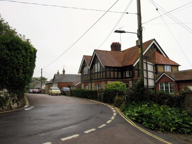 St Catherine's Road in Niton