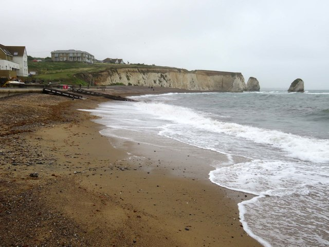 The beach at Freshwater Bay