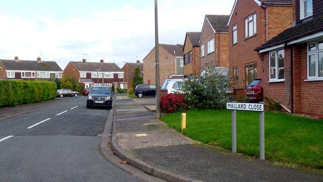 Mallard Close, Worcester