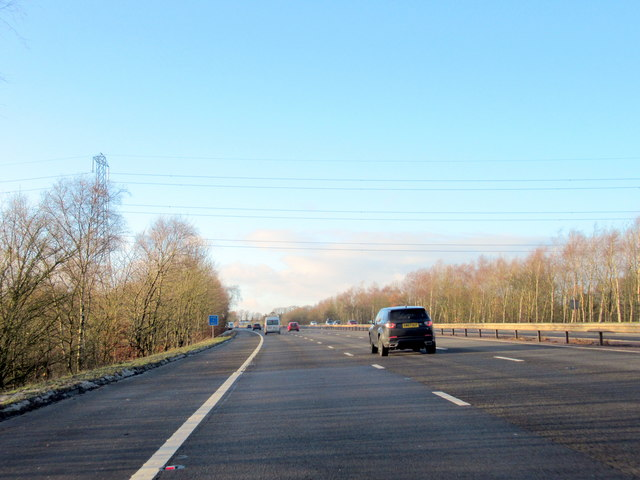 M40 Motorway Northbound