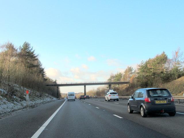 M40 Motorway Lapworth Street Overbridge