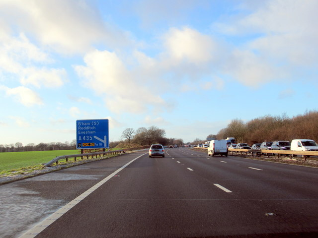 M42 Westbound Near Junction 3