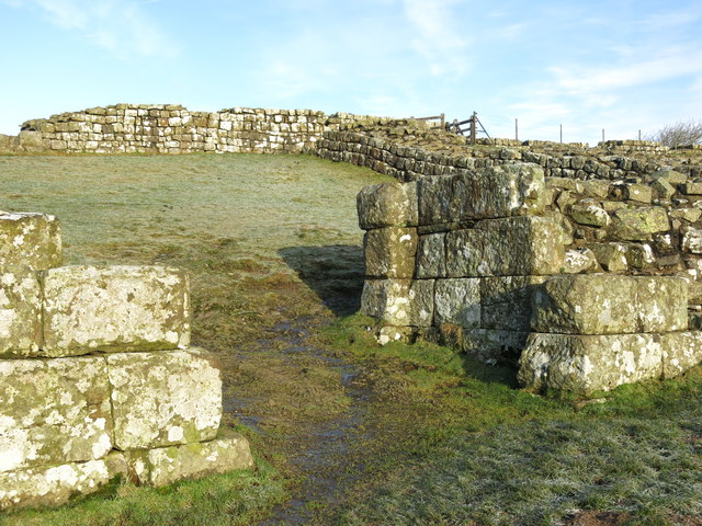 Cawfields Wall and Milecastle 42