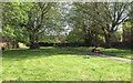 SP3265 : Former burial ground, New Street, Royal Leamington Spa by Robin Stott