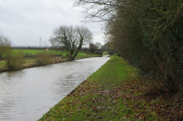 Middlewich Branch Canal near Church Minshull