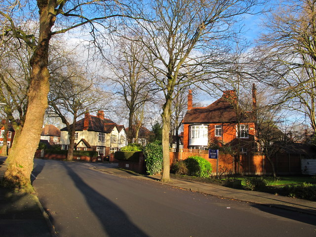 Ballbrook Avenue, Didsbury, Christmas Day near noon