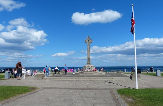 War memorial on Terrace Green, Seaham