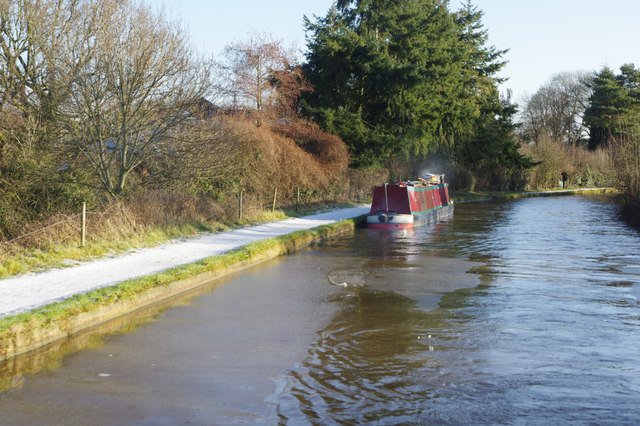 Middlewich Branch Canal, west of Middlewich