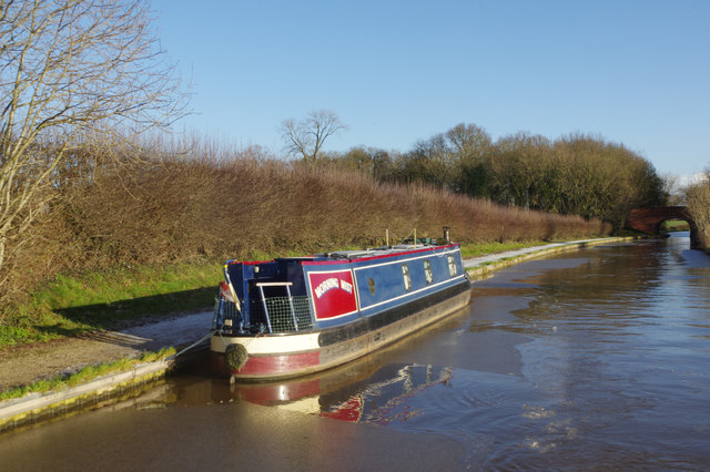 Middlewich Branch Canal west of Normans Bridge