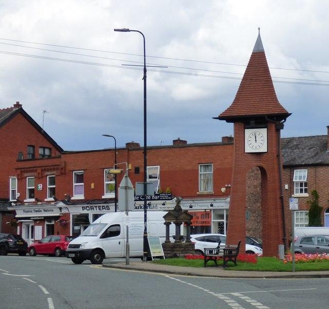 Hale Millennium Clock and 1908 fountain