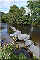 SH7957 : Stepping Stones by Keith Evans