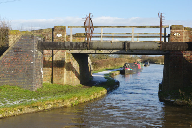 Cartwright Bridge, Middlewich Branch Canal