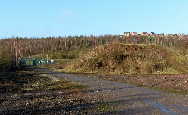 Former colliery site below the Country Park