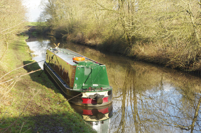 Middlewich Branch Canal, by Hoolgrave Bridge