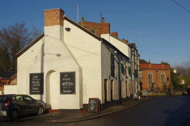 The Badger, Church Minshull