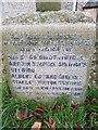 TM5184 : Names of the fallen on the Benacre War Memorial by Helen Steed
