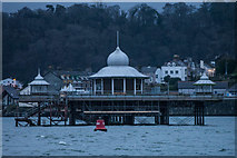 SH5873 : Bangor Pier, Viewed from The Gazelle by Oliver Mills