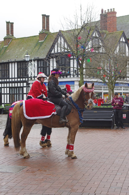Christmas Eve in Nantwich