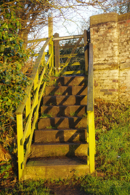 Steps at Minshull Bridge
