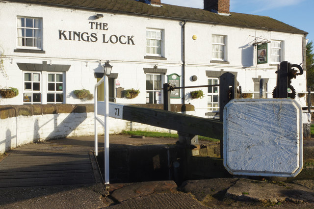 The Kings Lock, Middlewich