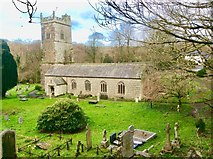 SX0882 : St Julitta'sChurch, Lanteglos by Bill Henderson