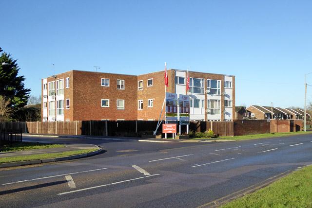 Flats by Buckingham Road, Aylesbury