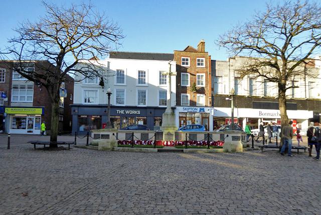 War memorial in Market Square, Aylesbury