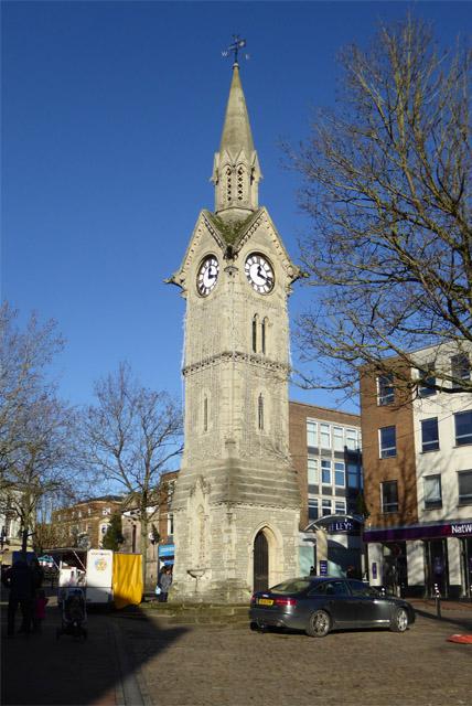 Clock tower, Aylesbury